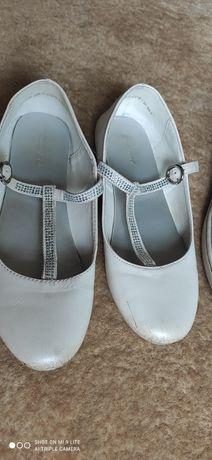 Buty białe rozmiar 34