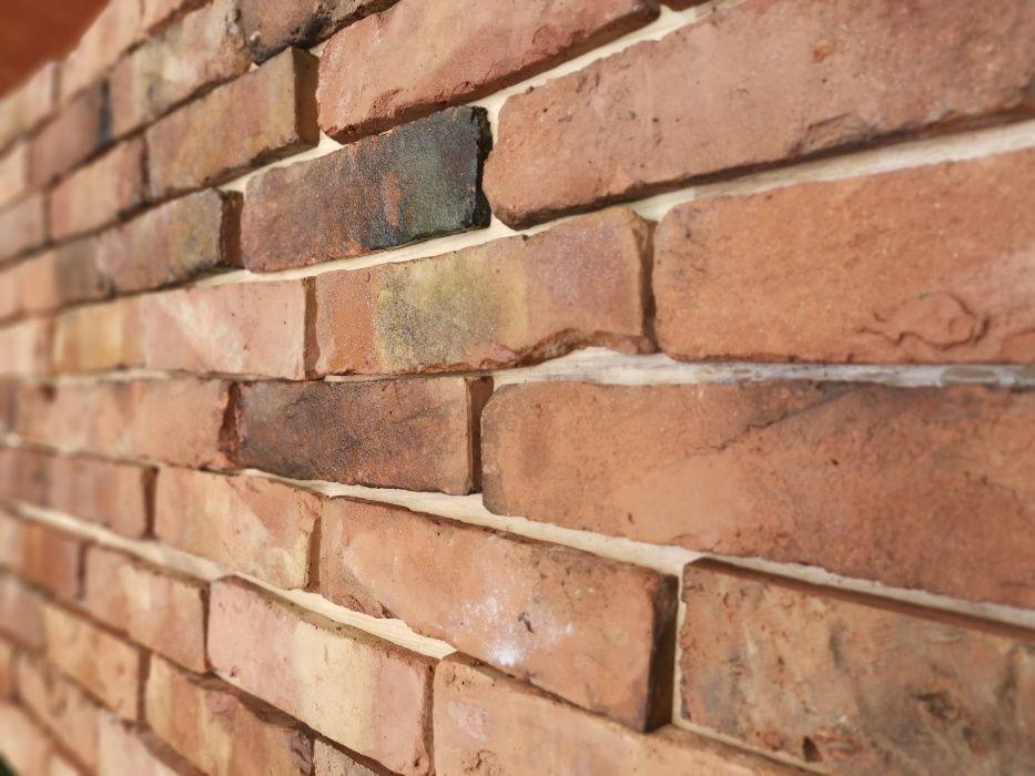 lica cegły,płytki ceglane,cegła cięta,płytki z cegły rozbiórkowej,loft Krzeszowice - image 1