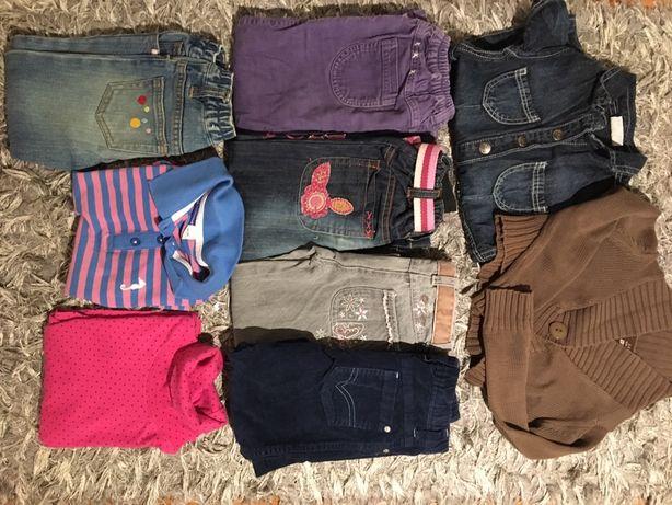 Ubranka 98-104 spodnie sweterek