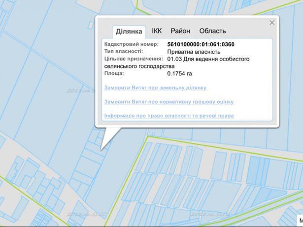 Продам земельну ділянку 17 соток Рівне Новий двір Корнинська