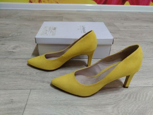 Женские лодочки/туфли La Redoute (лимонный/желтый)