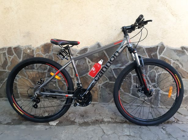 Новий велосипед Cannon Dura 27.5 Gray mtb / Алюміній / Дискові гальма