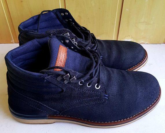Мужские замшевые ботинки Tommy Hilfiger оригинал, р. 42
