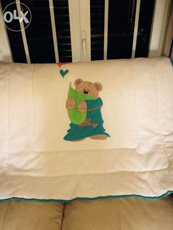 Colcha/edredão cama de grades de bebe