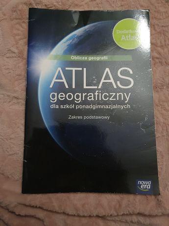 Oblicza geografii atlas geograficzny zakres podstawowy