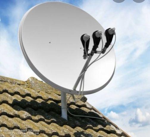 Супутникове телебачення ремонт продаж Viasat