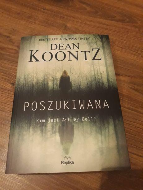 Książka -poszukiwana dean koontz