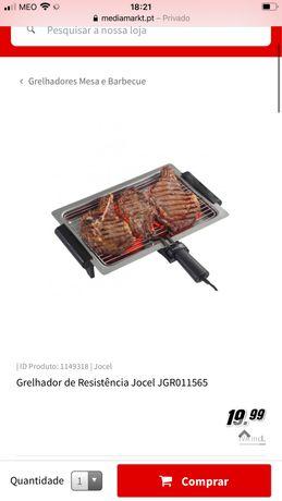 Grelhador elétrico jocel MaxMat