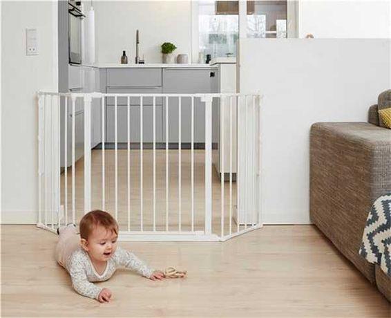 Barreira de segurança para crianças Baby Dan Flex M, White
