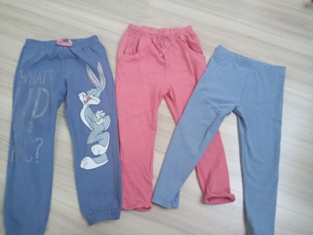 Getry spodnie 4-5 lat komplet