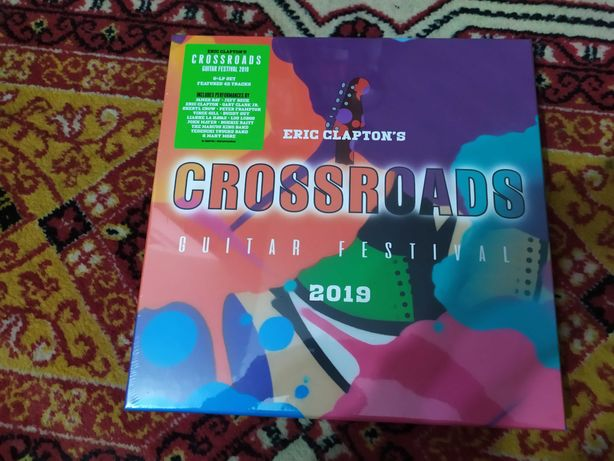 Eric Clapton Crossroads Guitar Festival 2019 - 6Lp