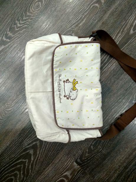 Сумка на коляску, мамская сумка-органайзер