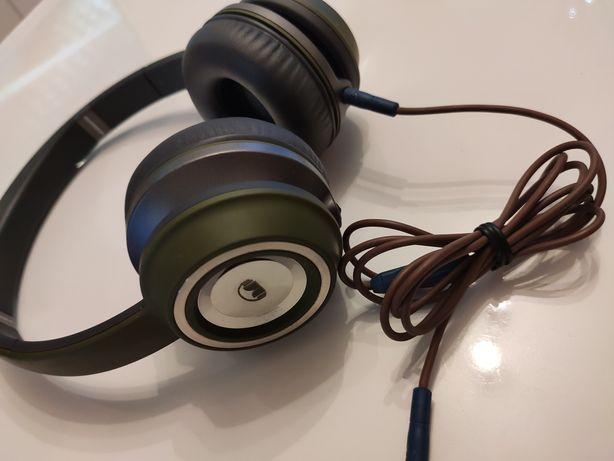 Oryginalne słuchawki Monster N-TUNE HD zielone