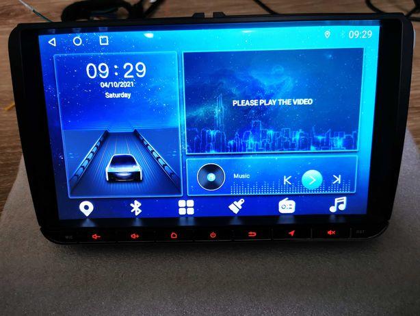 Radio Android Uniwersalne 9cali do VW Volkswagen Skoda Seat