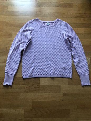 Sweter ażurowy SWETEREK saint tropez s m 36 38