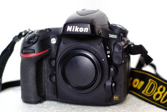Nikon D800 в ремонті не була . Один власник.