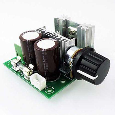 Регулятор оборотов двигателя постоянного тока 12-40В 10А