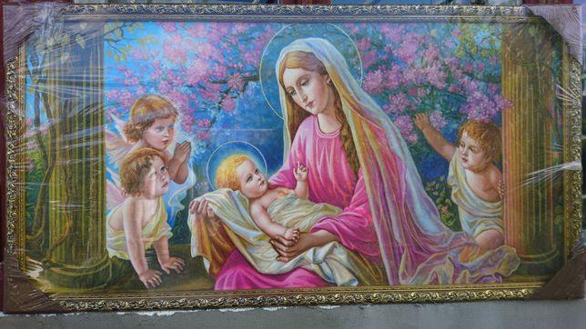 Картина Католической веры с золотом