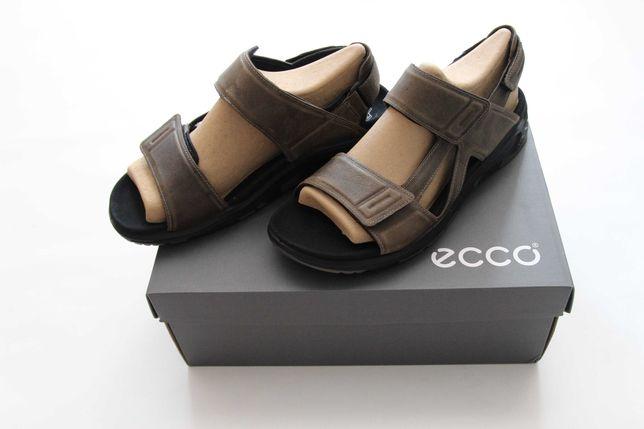 ECCO X-TRINSIC- skórzane sandały męskie NOWE 45