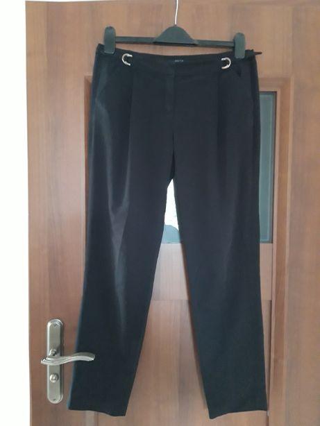 MOHITO czarne eleganckie spodnie kant 38/40