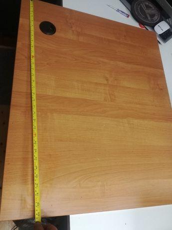 Dostawka do biurka stolik z 2 metalowymi nogami duży nie Ikea