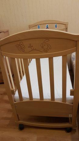 Дитяче ліжечко Верес від народження до 3 років