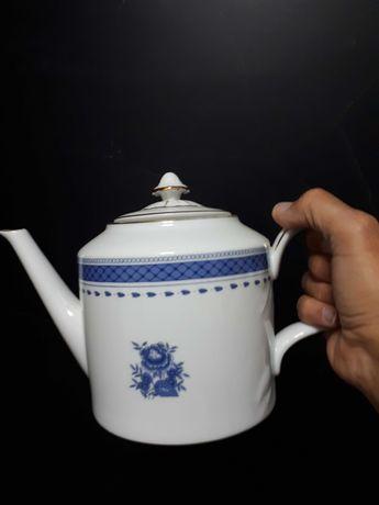 Serviço de chá com 6 chávenas- Vista Alegre (Cozinha Velha)
