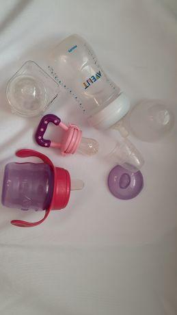 Бутылочки от авент