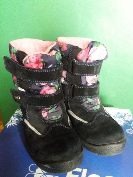 Зимние сапоги ботинки на мембране Kapika Floare 34р(22-22.5см)