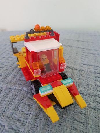 Samochód z klocków Lego różne możliwości ułożenia stan idealny