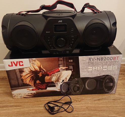 Boombox Boomblaster JVC RV-NB200BT CD, radio, AUX, bluetooth