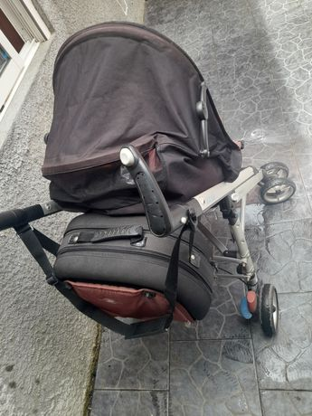 Carro e mala  de  bebe
