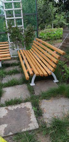 Скамейка садовая чугунная
