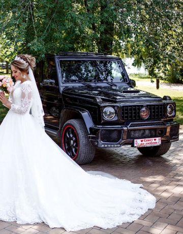 Аренда авто на свадьбу Mercedes G500 ( гелендваген)