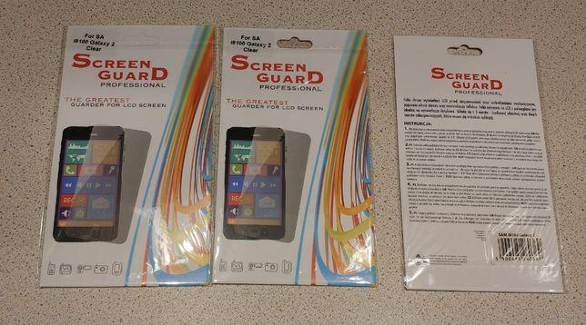 Nowa folia ochronna 3 OPAKOWANIA do smartfona Samsung Galaxy S2 i9100