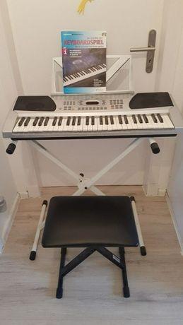 Keyboard Funkey 54 Stojak krzesełko. Kompletny zestaw.