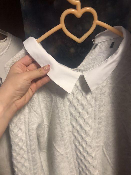 мягкая классный свитерок для школы свитер Песочин - изображение 1