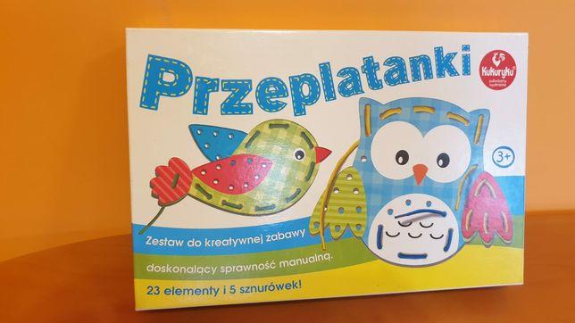 Przeplatanki zestaw do kreatywnej zabawy dla dzieci