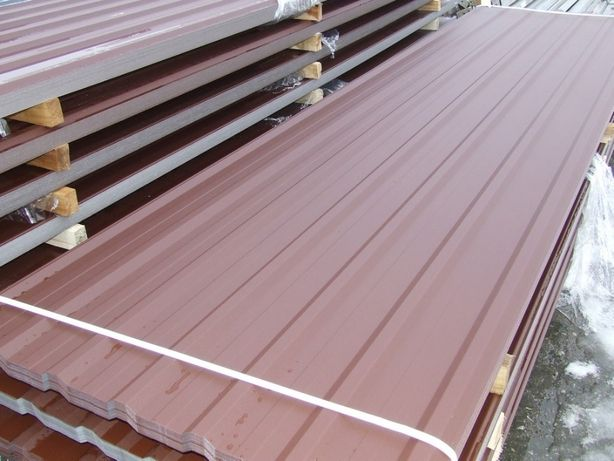 Blacha dachowa trapezowa T 18 blachy na dachy ścienna dach II gatunek