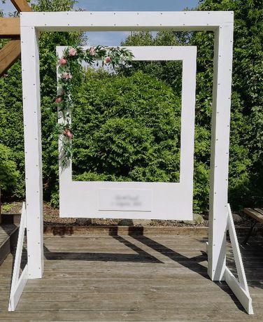 Rama polaroid foto na wesele, imprezę, fotobudka