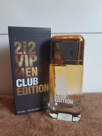 Perfumy 212 Vip Men Club Edition 100ml Meskie