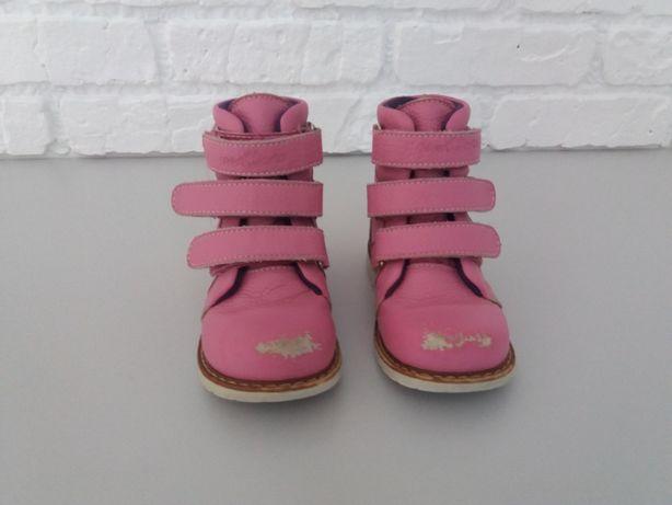 Ботинки ортопедические для девочки 06-572 24 размер (16см стелька)