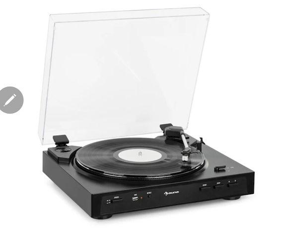 Gramofon Fullmatic Auna, nowy