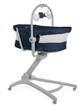 ліжечко - крісло для годування chicco baby hug air 4 в 1