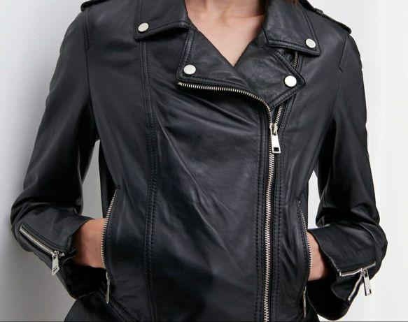 Прдам кожаную женскую куртку