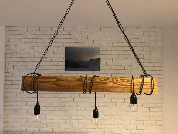 Lampa Belka z 3 żarówkami.