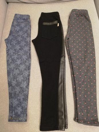 Spodnie/leginsy dla dziewczynki