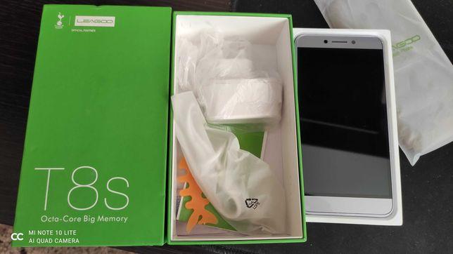 """Смартфон Leagoo T8s 5,5"""" FHD 4/32Гб 13Мп Андроид 8,1 серый Б/У"""