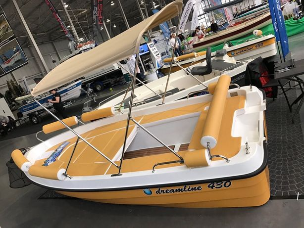 Łódz wędkarsko-motorowa Dreamline 430 wekend