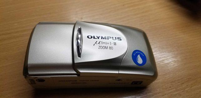 пленочный  35 мм фотоаппарат OLYMPYS mju: II ZOOM80